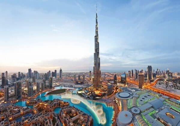En etkileyici 20 mimari yapı| burç halife-birleşik arap emirlikleri