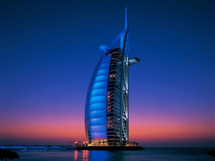 En etkileyici 20 mimari yapı| burj al arab – dubai, birleşik arap emirlikleri
