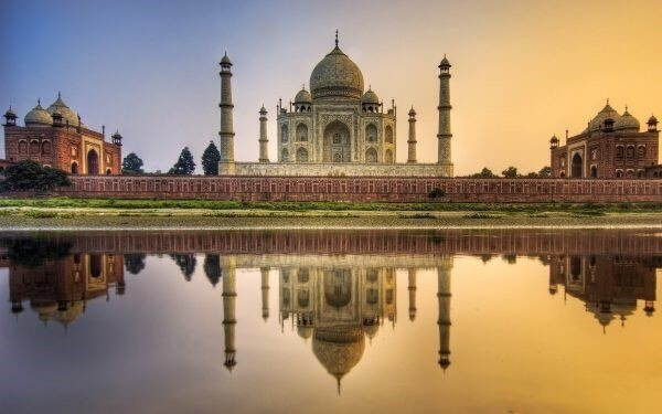 En etkileyici 20 mimari yapı| tac mahal-hindistan
