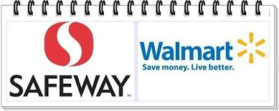 Safeway walmart log