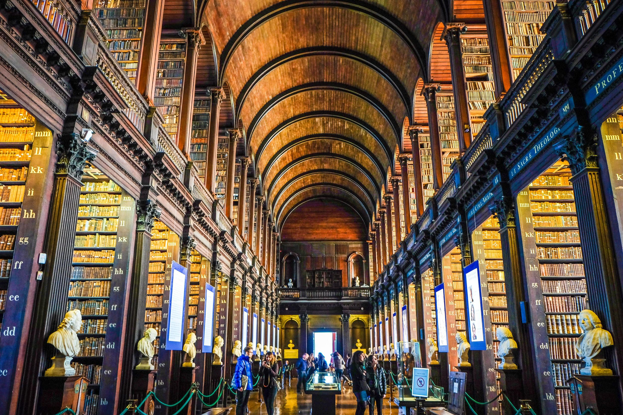trinity colloge and book of kells