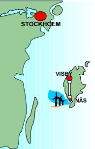 Gotland HVDC iletim hattı haritası