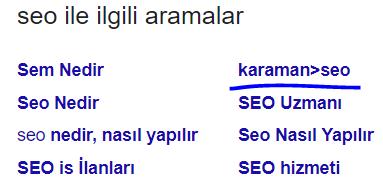 SEO'da Ayhan Karaman Gücü