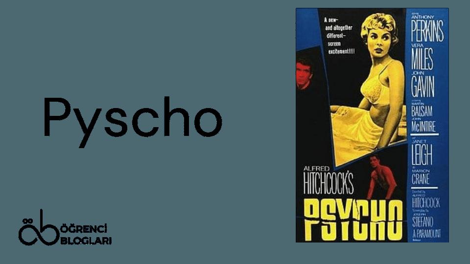 Hitchcock Filmleri| Pyscho