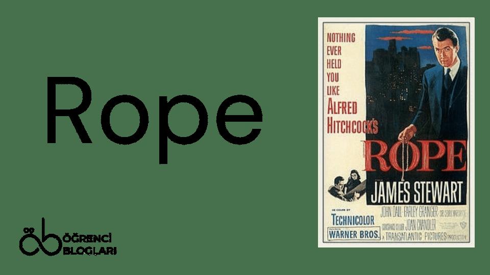 Hitchcock Filmleri| Rope