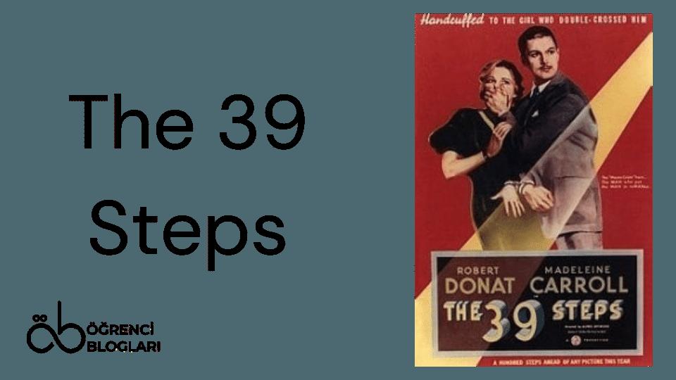 Hitchcock Filmleri| The 39 Steps
