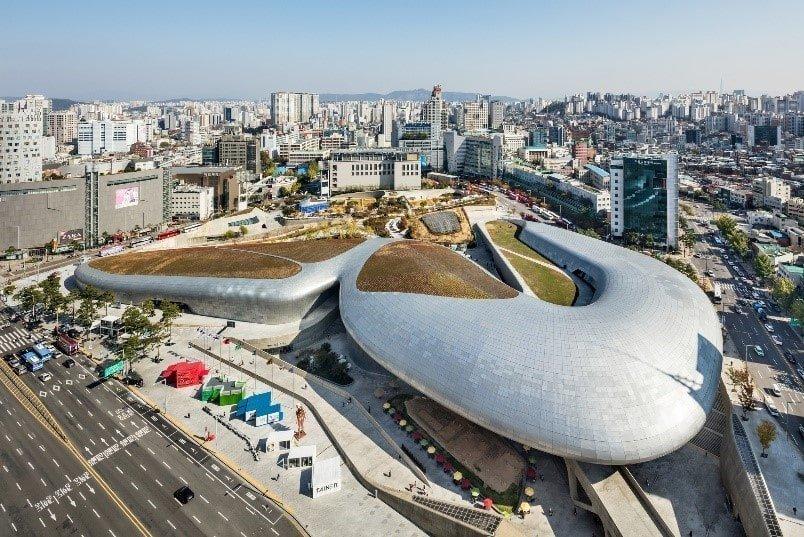Seul'de Gezilecek Yerler | Dongdaemun Tasarım Plaza