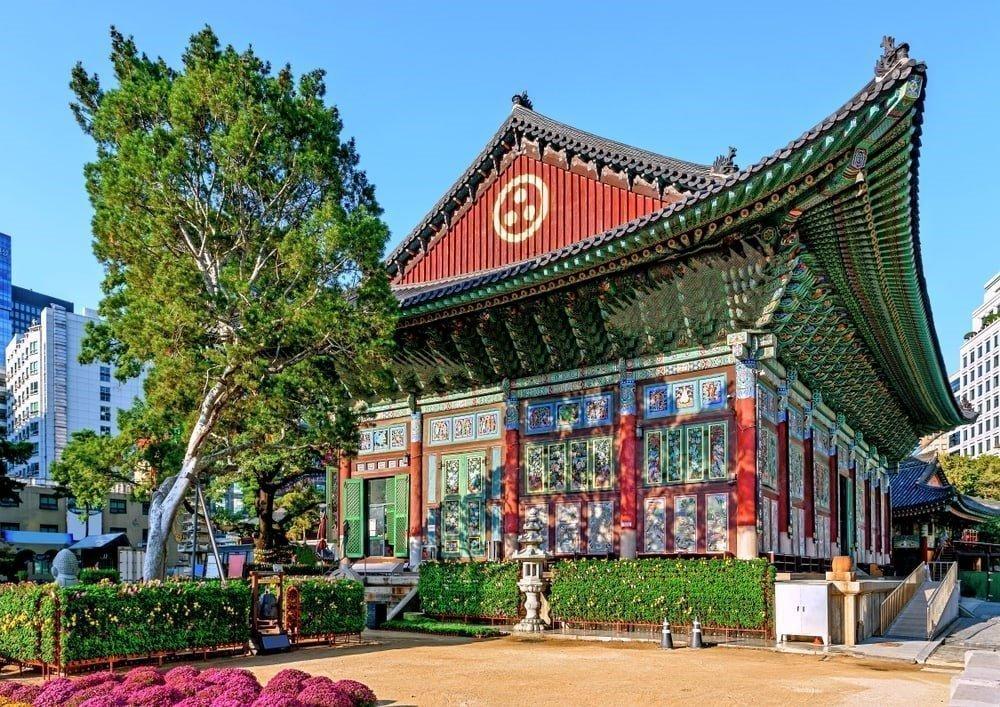 Seul'de Gezilecek Yerler | Jogyesa Tapınağı