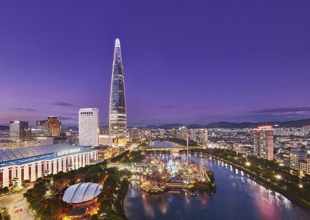 Seul'de Gezilecek Yerler | Lotte Dünya Kulesi