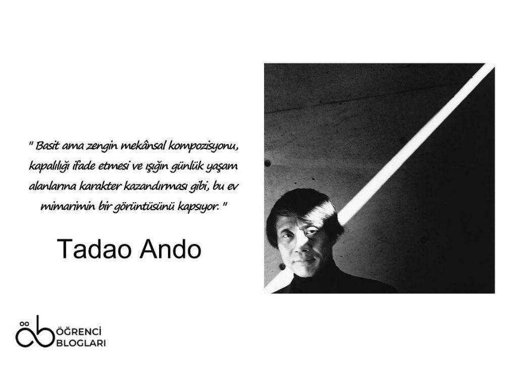 Betonu ve Işığı Dans Ettiren Mimar Tadao Ando