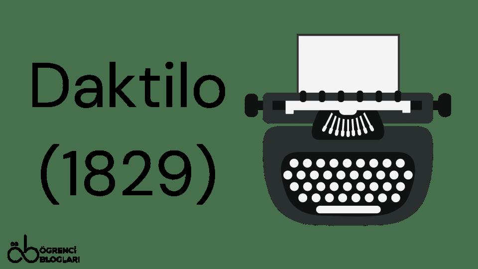Daktilo (1829)