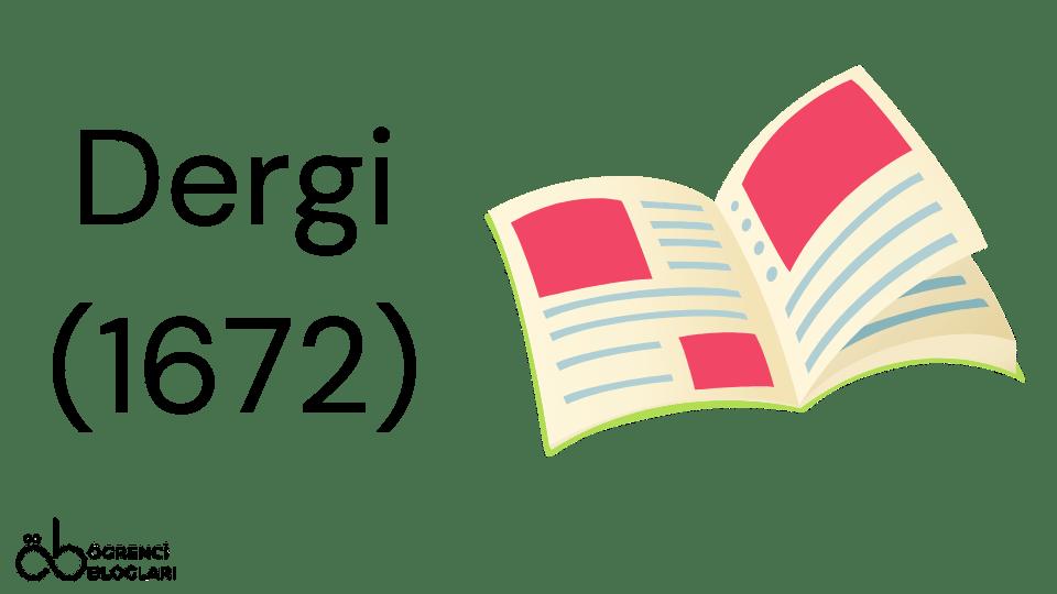 Dergi (1672)
