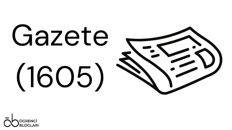 Gazete (1605)