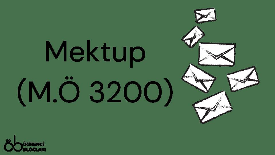 Mektup (M.Ö 3200)