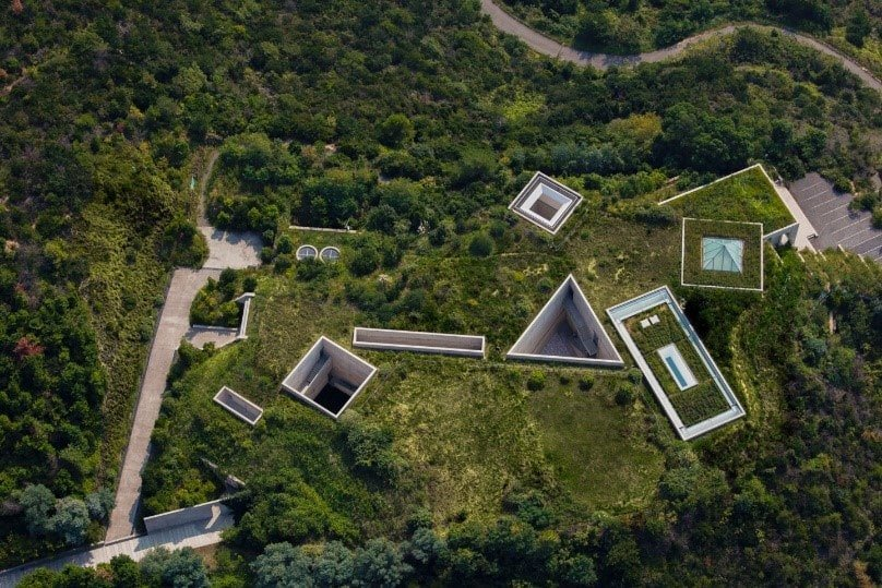 Tadao Ando Chichu Sanat Müzesi