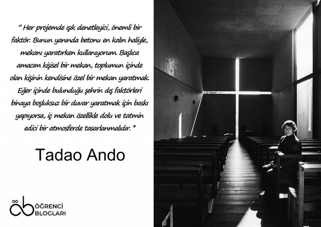 Tadao Ando Eserleri