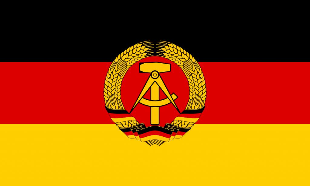 Doğu Almanya bayrağı