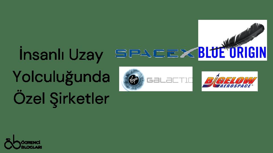 İnsanlı Uzay Yolculuğunda Özel Şirketler