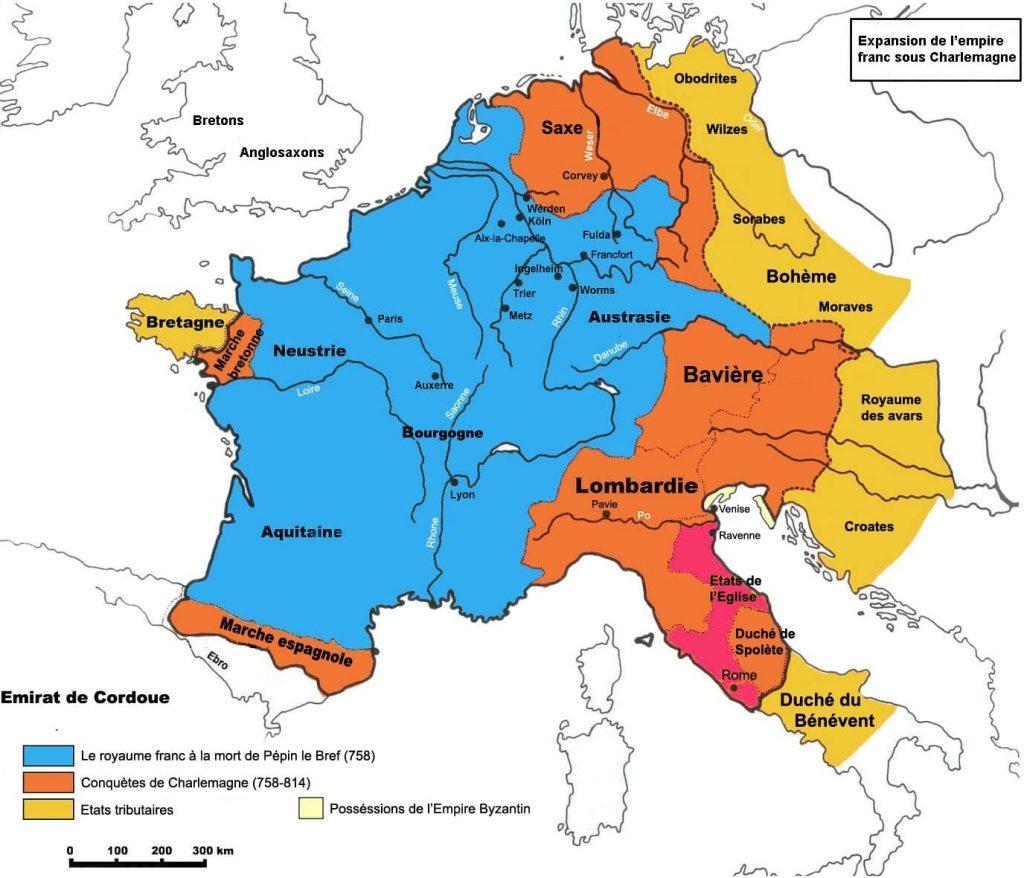 Karolejenler ve Charlemagne (Şarlman) Dönemi
