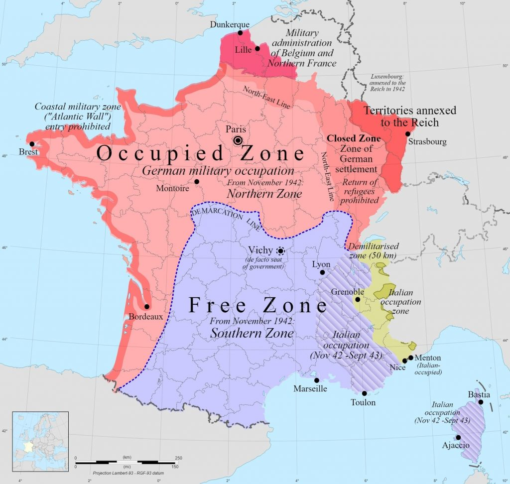 Tek Ulus İki Yönetim Vichy ve Özgür Fransa
