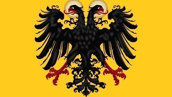 kutsal roma germen bayragı