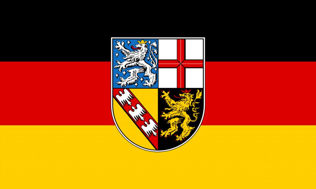 saarland almanya bayrağı